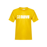 Youth Gold T Shirt-NAVS