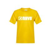 Youth Gold T Shirt-NAVS