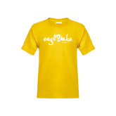 Youth Gold T Shirt-Eagle Lake Camps