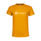 Youth Gold T Shirt-Navigators