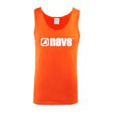 Orange Tank Top-NAVS
