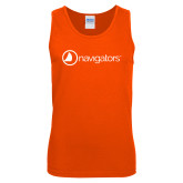 Orange Tank Top-Navigators