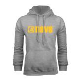Grey Fleece Hoodie-NAVS