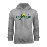 Grey Fleece Hoodie-Eagle Lake Camps