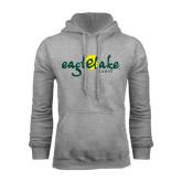 Grey Fleece Hoodie-Eagle Lake Camps