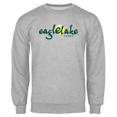Grey Fleece Crew-Eagle Lake Camps
