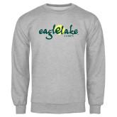 Grey Fleece Crew-Eagle Lake Camps