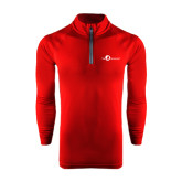 Under Armour Cardinal Tech 1/4 Zip Performance Shirt-The Navigators