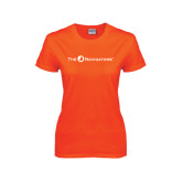 Ladies Orange T Shirt-The Navigators