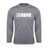 Syntrel Performance Steel Longsleeve Shirt-NAVS