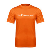 Performance Orange Tee-The Navigators