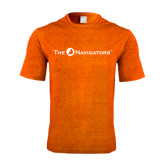 Performance Orange Heather Contender Tee-The Navigators