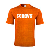 Performance Orange Heather Contender Tee-NAVS