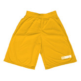 Midcourt Performance Gold 11 Inch Game Short-NAVS