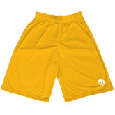 Midcourt Performance Gold 11 Inch Game Short-El Mark