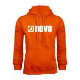 Orange Fleece Hoodie-NAVS