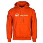 Orange Fleece Hoodie-Navigators