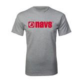 Grey T Shirt-NAVS
