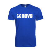 Next Level SoftStyle Royal T Shirt-NAVS