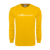 Gold Long Sleeve T Shirt-The Navigators