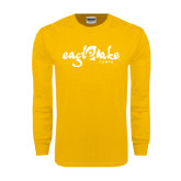 Gold Long Sleeve T Shirt-Eagle Lake Camps