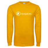 Gold Long Sleeve T Shirt-Navigators