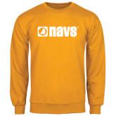 Gold Fleece Crew-NAVS