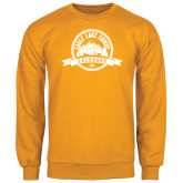 Gold Fleece Crew-Eagle Lake Badge