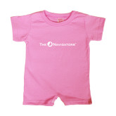 Bubble Gum Pink Infant Romper-The Navigators