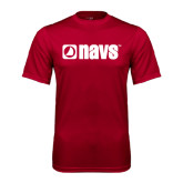 Syntrel Performance Cardinal Tee-NAVS