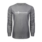 Grey Long Sleeve T Shirt-The Navigators