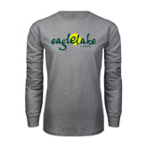 Grey Long Sleeve T Shirt-Eagle Lake Camps