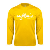 Syntrel Performance Gold Longsleeve Shirt-Eagle Lake Camps