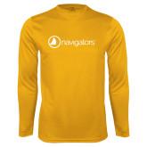 Performance Gold Longsleeve Shirt-Navigators