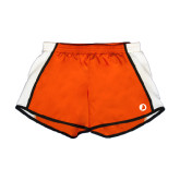 Ladies Orange/White Team Short-Navigators Sail
