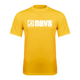 Syntrel Performance Gold Tee-NAVS