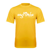 Syntrel Performance Gold Tee-Eagle Lake Camps