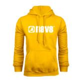 Gold Fleece Hoodie-NAVS