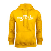 Gold Fleece Hoodie-Eagle Lake Camps