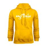 Gold Fleece Hoodie-Eagle Lake Camps