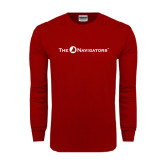 Cardinal Long Sleeve T Shirt-The Navigators