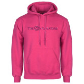 Fuchsia Fleece Hoodie-The Navigators Rhinestones