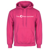 Fuchsia Fleece Hoodie-The Navigators