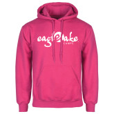 Fuchsia Fleece Hoodie-Eagle Lake Camps
