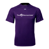 Under Armour Purple Tech Tee-The Navigators