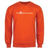 Orange Fleece Crew-The Navigators