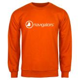 Orange Fleece Crew-Navigators