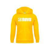 Youth Gold Fleece Hoodie-NAVS