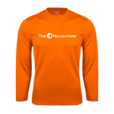 Syntrel Performance Orange Longsleeve Shirt-The Navigators