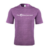 Performance Purple Heather Contender Tee-The Navigators